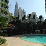 View from Shangri La Pool Area