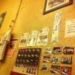 Not all of the sushi on the wall are available