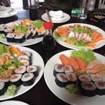 Amazing sushi in the Kilimanjaro region