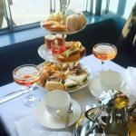 Luxurious afternoon tea with a French twist