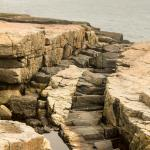 Rocks of Differing Hardnesses Erode at Different Rates