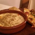 antipasti (quiche, empanadas, tortino di verdure), voto 9/10