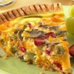Delectable Quiche at Rosebud Cottage, Franklin, NC
