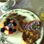 Breakfast at the Hilltop Inn