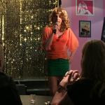 Our lovely drag performer