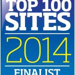 Top 100 Sites Finalist