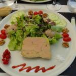 Salade gourmande Périgourdine