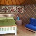 Fantastic time in Dingley Dell Yurt