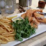 Sole Goujons with Lemon and Chips!