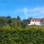 Vue du Château bord de route