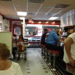 Typical small friendly diner