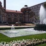 Beautiful building in Sofia public bath