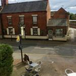 View from our room at the Bramley Apple