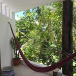 Room terrace with hammock
