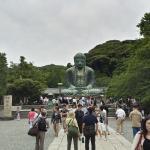 Kamakura Buddha as seen from the entrance
