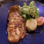 Excellent seafood dinner