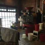 roastery near the front