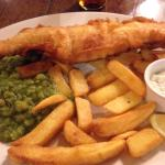 Fish and chips... Yum