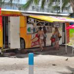 Walk-thru and order on the Beach