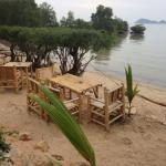 Tavoli in spiaggia