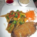 House Special Duck w/ sauteed vegetables