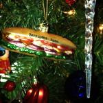 Christmas Ornament Present from former employee Alex D.