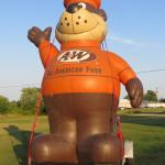The official A & W greeter