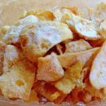 Bugia Fried Dough with Powdered Sugar