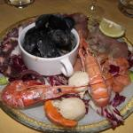 Fanta-sea appetiser at hotel restaurant