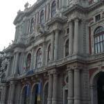 facciata di pallazzo Carignano