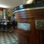 Salle de restaurant avec bar magnifique