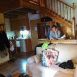 Interior del apartamento con altillo en la tercera planta