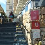 Escalier de jour - hotel Chez Charles