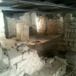 Il succorpo della cattedrale di Bari-Particolare