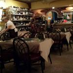 Leone's with partial view of wine selection