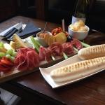 Really friendly staff, relaxed & informal feel. Coffee was good and the cheese and meat platter