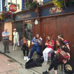 Fleadh Cheoil 2015 session outside Tricky's