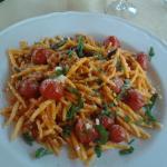 Trofie alla siciliana