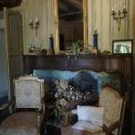 cheminée dans le salon