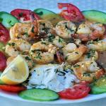 shrimps in garlic sauce