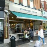 Starbucks in Kew.
