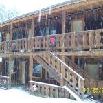 Thunderbird Lodge 1/2 block West of Sitzmark Sports and Lodge