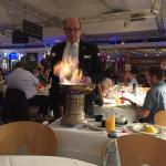 This is the most amazing personal service from Rino The American at San Carlo Leicester.