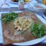 Galette crevettes