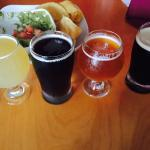 If you're into Tapas style dining, then this is your spot! Be sure to ask about the beer flights