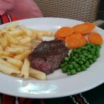 Just a few pictures from our visit the small steak is from the children's menu
