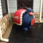 Braves Pig Outside Wallace's