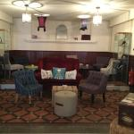 Coffee lounge at Chapel House, Dunster