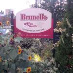 Brunello's front patio