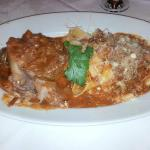 Veal Ossobucco with Papparadelle
